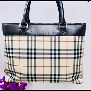 Preowned Authentic Burberry Tote